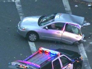 Police on the scene of a horrific fatal crash in New Milford, N.J