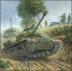 Soviet T10 tank
