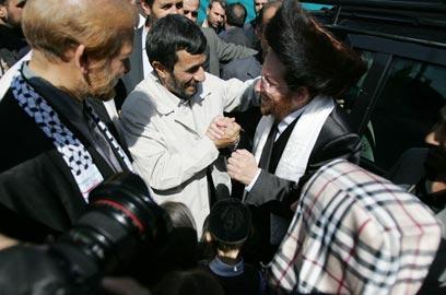 Rabbi Friedman in Iran meeting Iranian president on Sabbath
