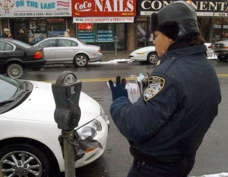 Паркомат в Нью йорке