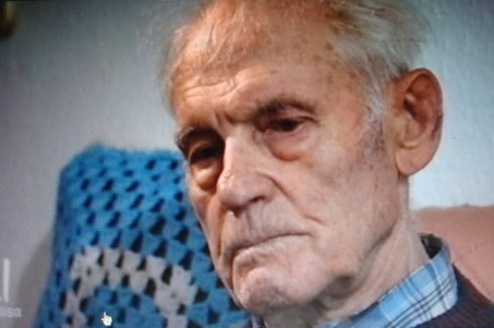 Alexander Nagorny, the key witness against John Demjanjuk, is shown in an interview on the German television program Mona Lisa on ZDF Television. At 92, Nagorny says he recognized Demjanjuk's picture, worked with him at a German concentration camp and lived with him