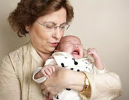 Kfar Khabad 60 year old first time mom