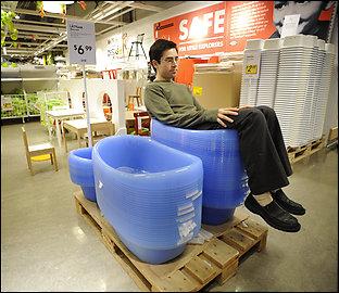 Mark Malkoff at Ikea