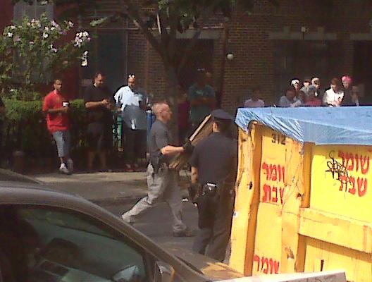 FBI raid in Williamsburg on South 8th street