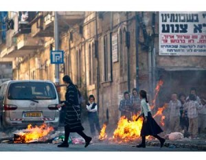 The riots