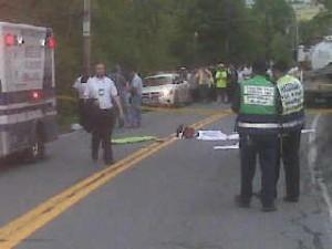 CSE and Hatzalah on the scene