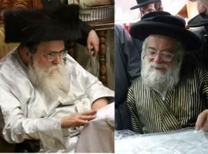 Toldos Avrohom Yitzchok Rebbe [L]Toldos Aharon [R]