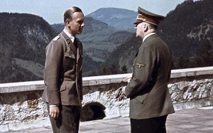 Adolf Hitler with Fritz Darges  Photo: WALTER FRENZ