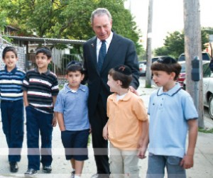 Bloomberg Restores $8M in Yeshivah Vouchers Until June 30 2010 Photo: Campaign material