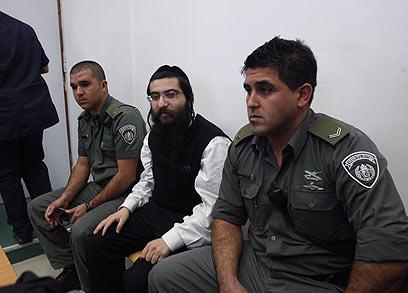 Elior Chen in court (Photo: Gil Yohanan for Ynet)