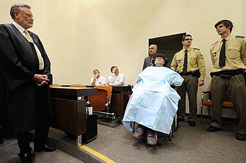 Demjanjuk in Court Photo: Munich Press