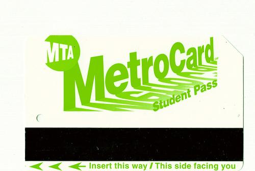 student MetroCard