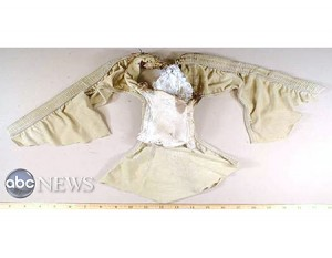 The underwear which contained an explosive packet used on a failed plot to blow up Northwest Flight 253. [Photo: ABC News Undated]