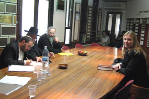 Members of the Beit Din were Chief Rabbi Dov Lior of Hevron, Chief Rabbi Shmuel Eliyahu of Safed, and Rabbi Rafi Ostroff. Another highly respected Rav officiated over the conversion.