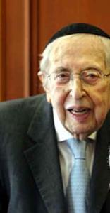 Rabbi Dr. Bernard Lander, the founder and president of Touro College