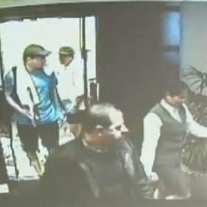 CCTV footage on events in Dubai