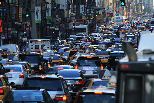 New York Ny City Would Be One Big Parking Lot If Nyers