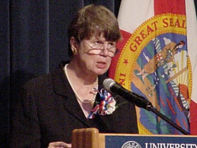 Former U.S. Attorney General Janet Reno (Clinton administration, 1993-2001).