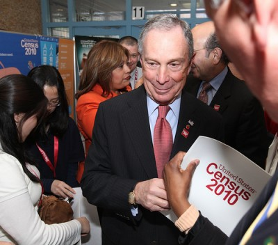 file Bloomberg encouraging NYC residents to fill our census documents