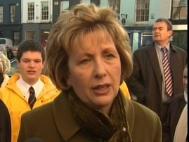 Irish President Mary McAleese Visit to New York