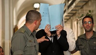 Suspect brought before court (Photo: Noam Moscowitz)