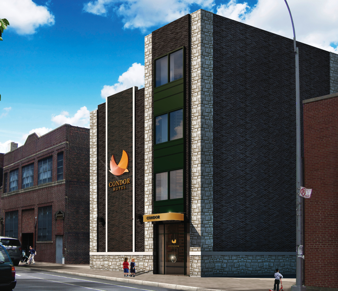 Rendering Photo Of Luxury Five Story Hotel Set To Open In Winter 2017