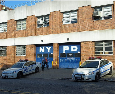 NYPD Police Station Precinct 77, Crown Heights, Brooklyn, New York City
