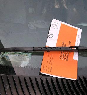 Nyc discount parking coupon