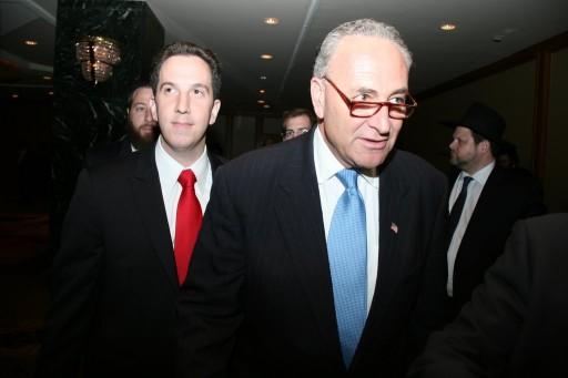 Phillip Goldfeder, an aide to U.S. Sen. Chuck Schumer. Photo credit: Shimon Gifter