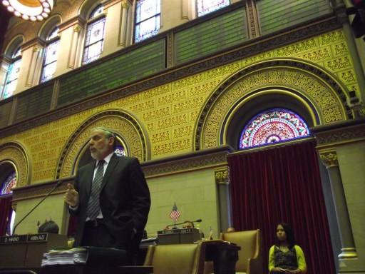 Assemblyman Dov Hikind, a Democrat from Brooklyn. (photo credit: azi paybarah / observer)
