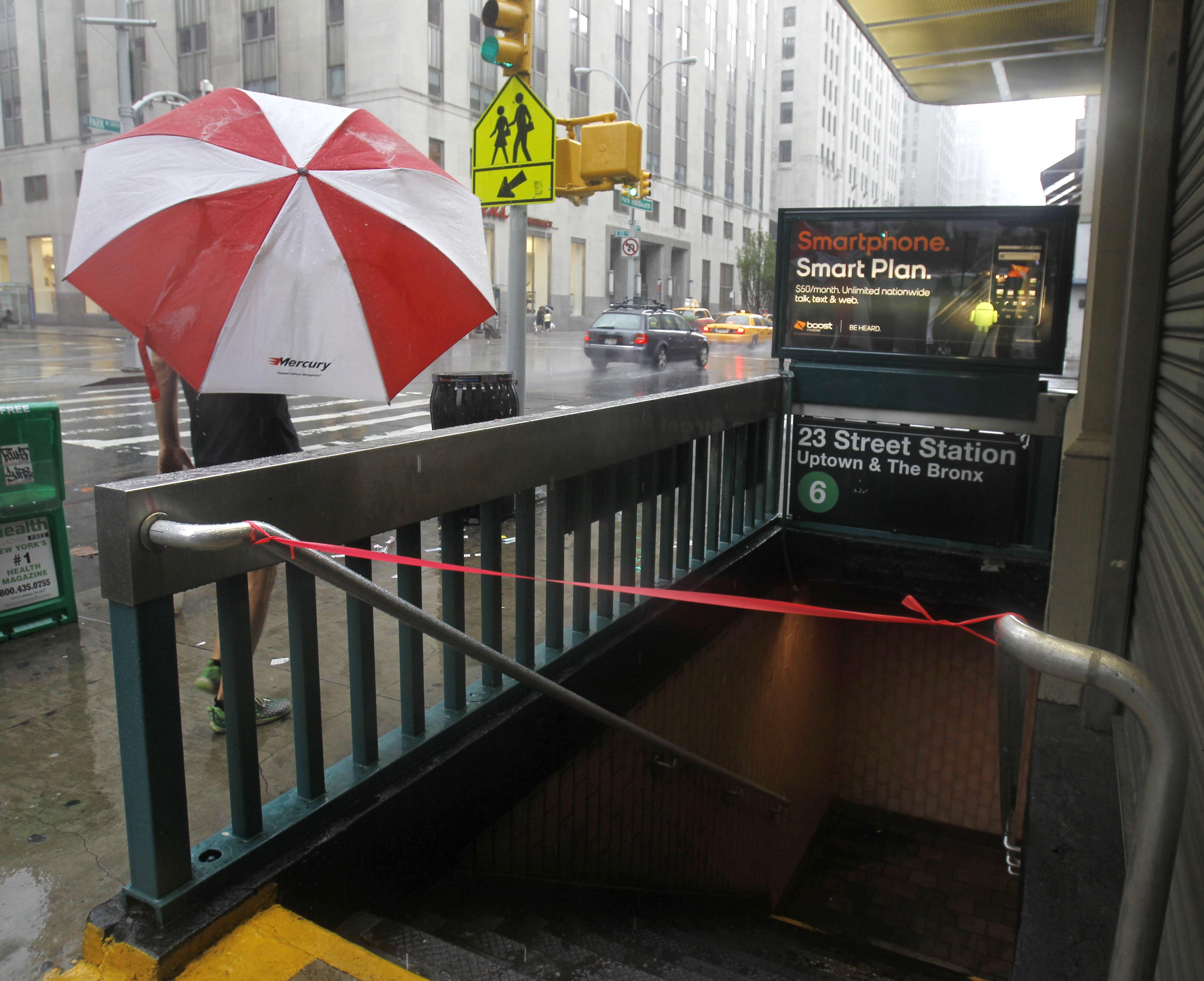New york city subway entrance sa5