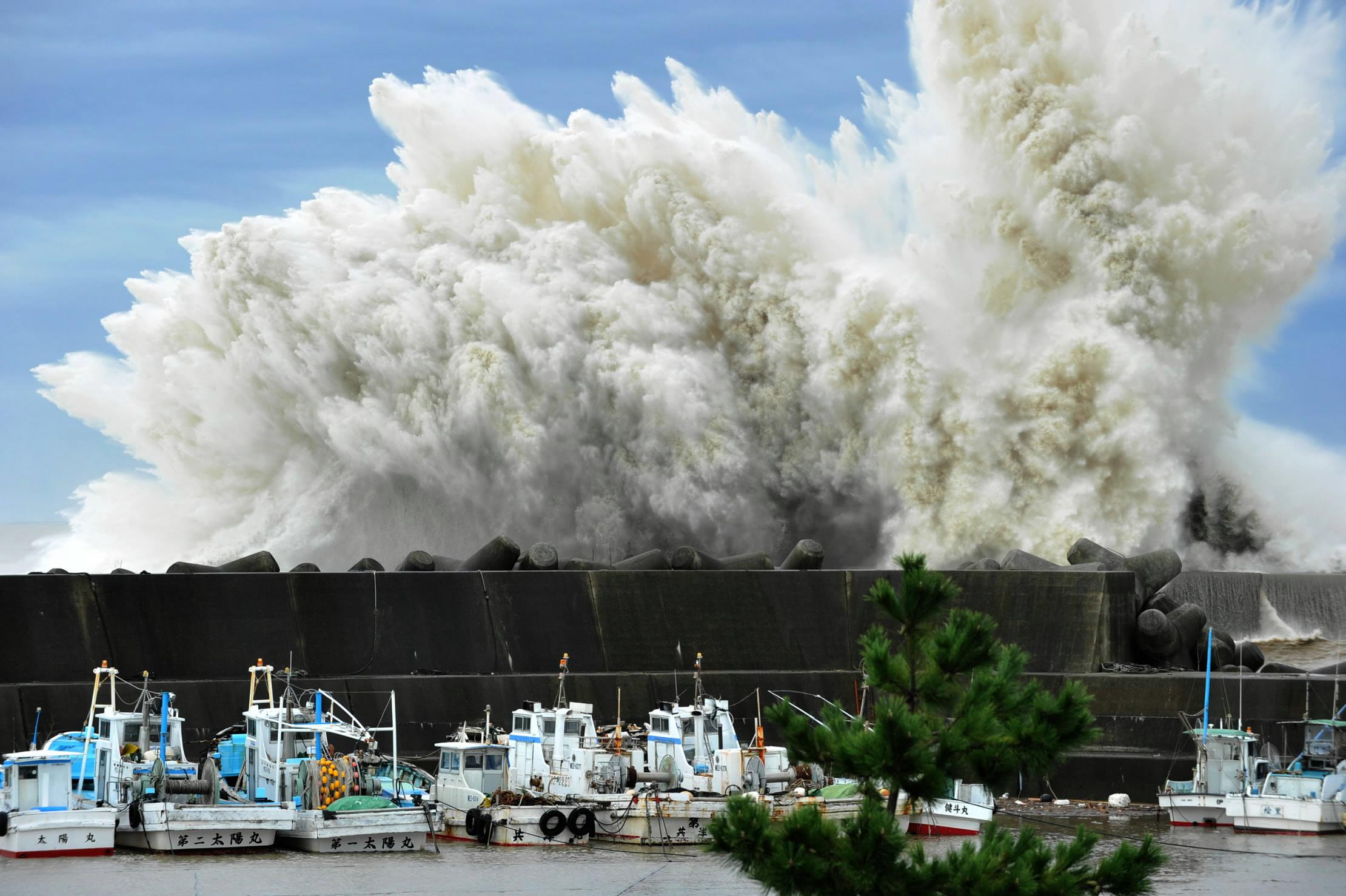 Japanese Tsunami 2011 Wave