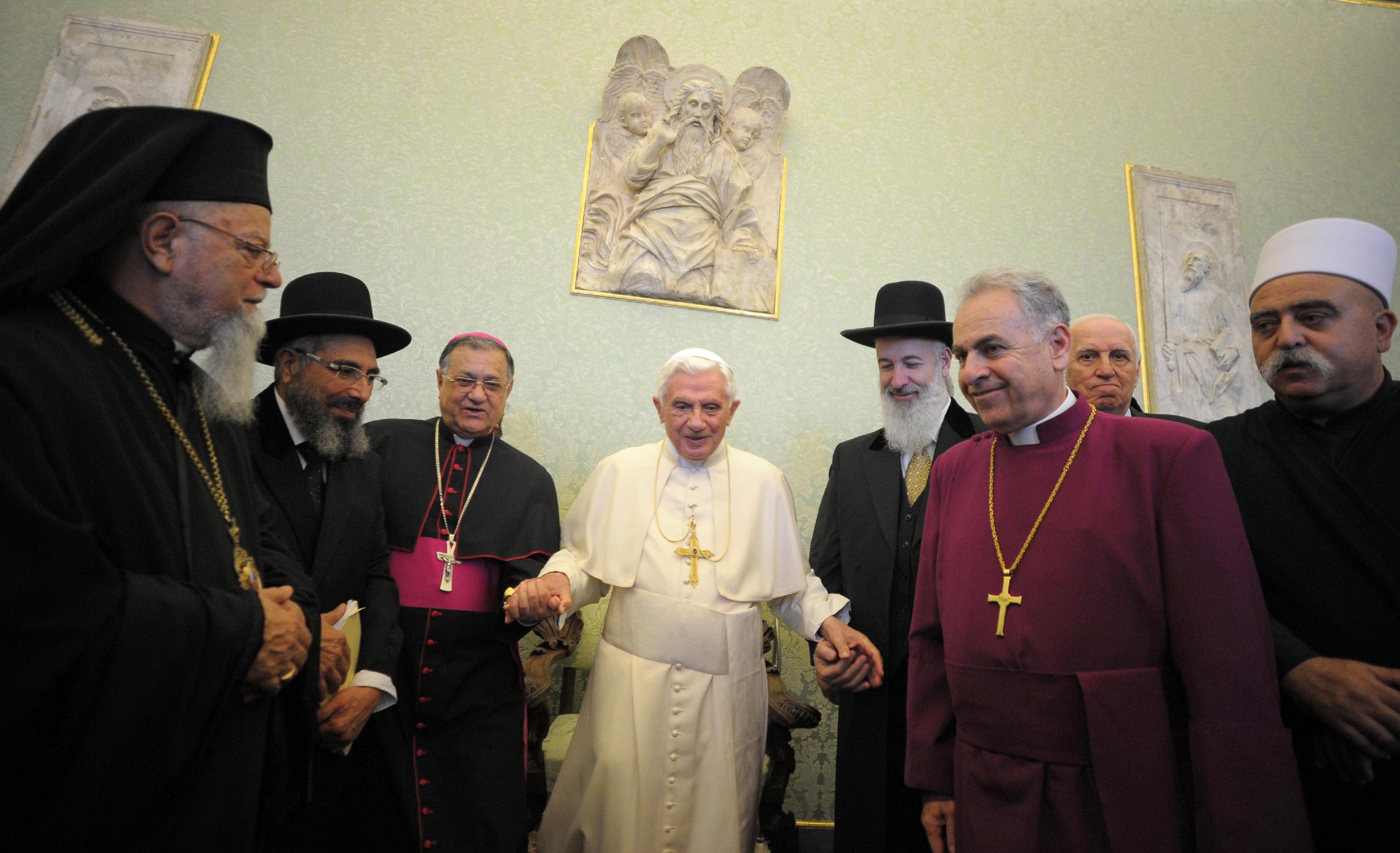 Image result for benedict xvi imam rabbi