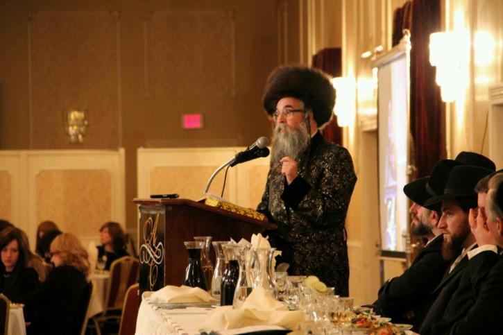 Rabbi Leibish Rottenberg of Beis Medrash Netzach Yisroel