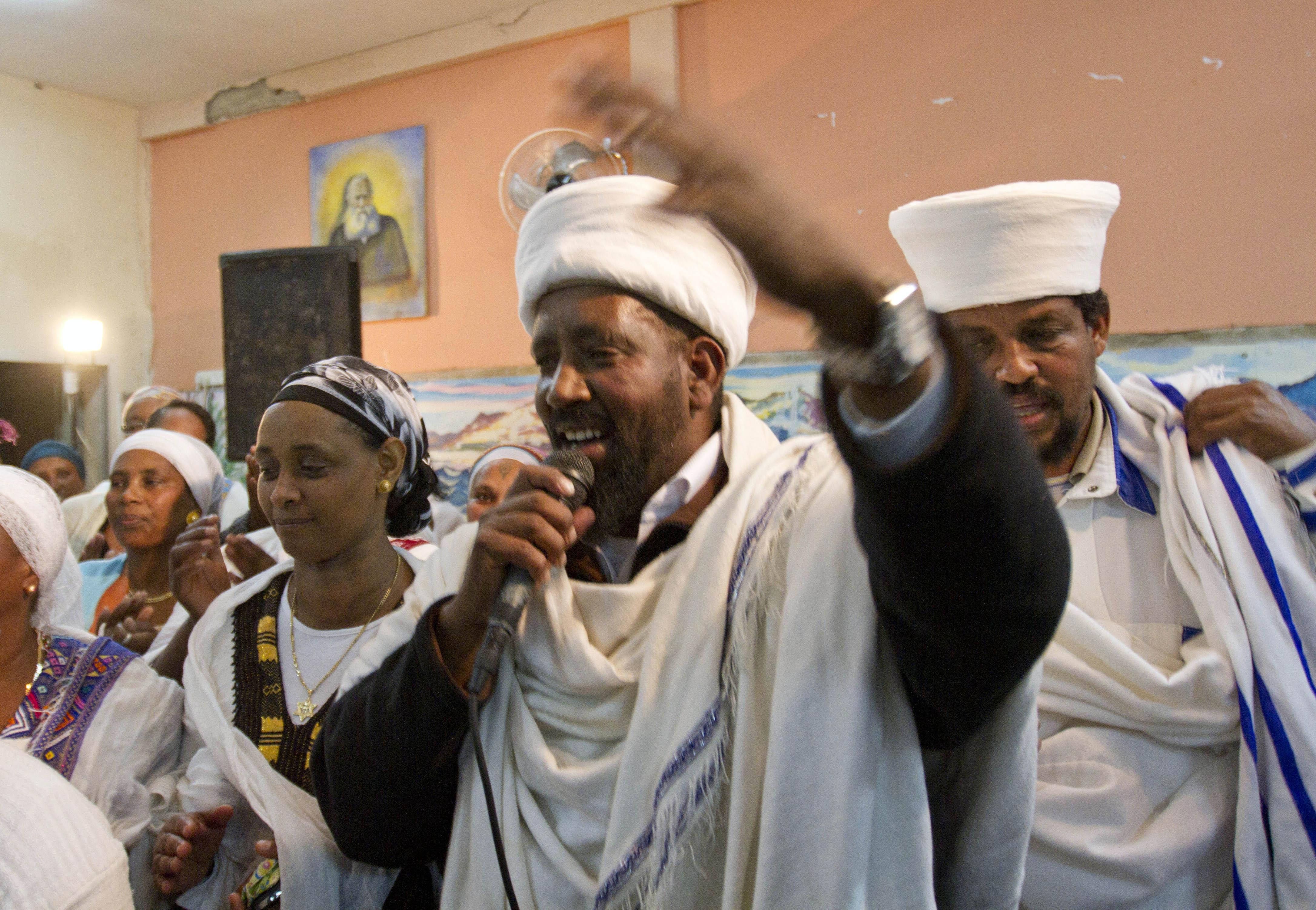 In This Saturday Jan 14 2012 Photo Abio An Ethiopian Kess