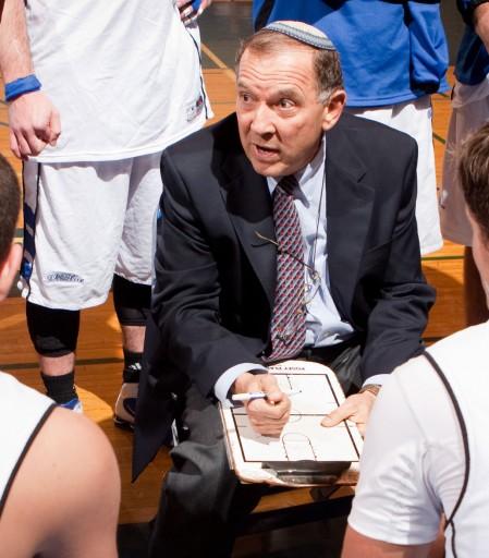 Jonathan Halpert, basketball coach at Yeshiva University. Photo courtesy Yeshiva University.