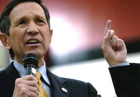 Columbus, Ohio - Famous Congressman Kucinich Loses House