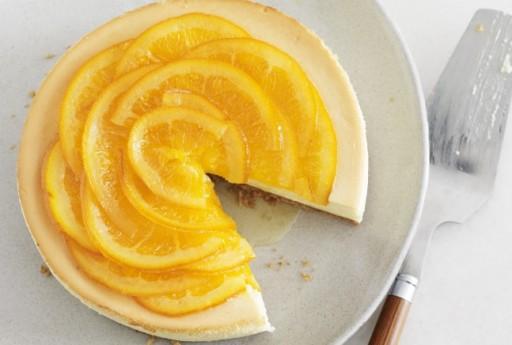Jamie Geller orange cheesecake