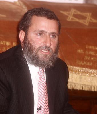 Celebrity RABBI SHMULEY BOTEACH . Photo Credit: EPA