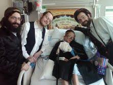 Dovid in Hospital Purim