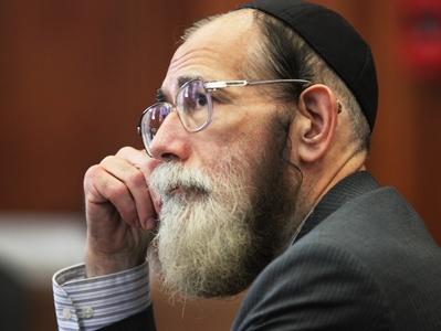 convicted sex offender Rabbi Stanley Levitt.