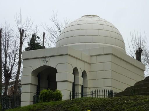 The Montefiore Mausoleum, Ramsgate. Photo: Pam Fray