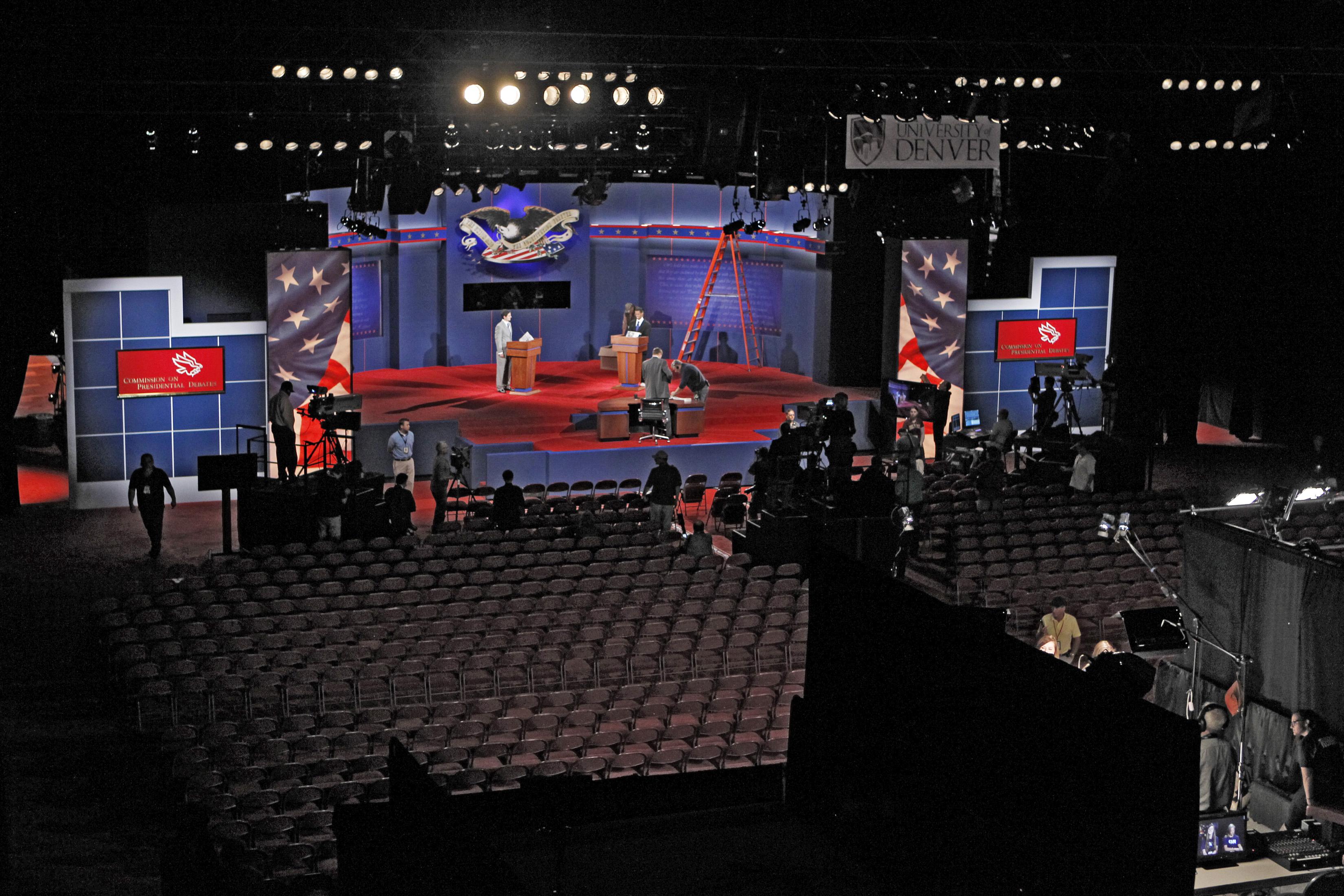essays on presidential debates 2012