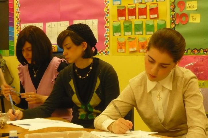 Tiferes Bnos teachers Photo: Sarah Garland for Hechinger Report./ courtesy to vinnews.com