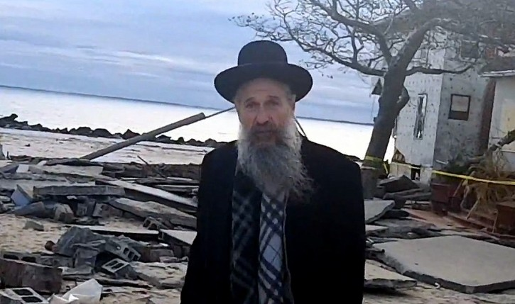 Yitz Engel walked with Mordechai Ben David through the ravaged streets of Seagate and he showed some of the hardest hit areas