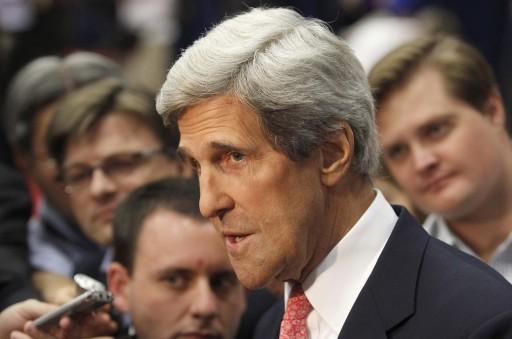 U.S. Senator John Kerry. REUTERS/Andrew Innerarity
