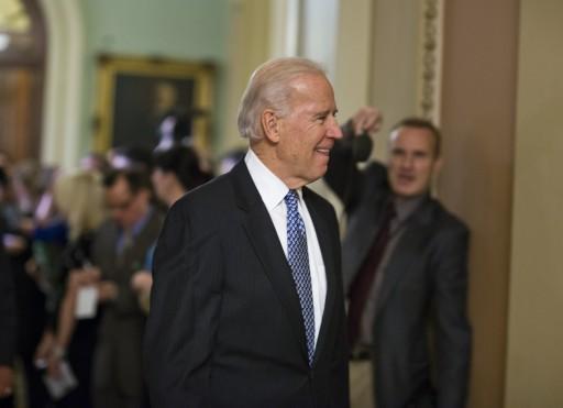 Vice President Joe Biden enters a Democratic caucus to negotiate a fix to the so-called fiscal cliff in Washington, DC, USA, 31 December 2012. EPA/JIM LO SCALZO