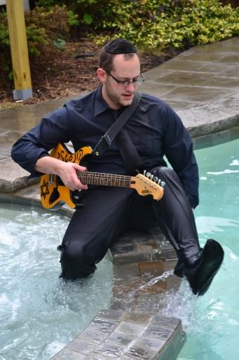Guitarist Aryeh Kunstler