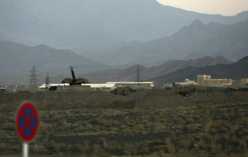 File photo of an anti-aircraft gun position is seen at Iran's nuclear enrichment facility in Natanz, Iran. (AP Photo/Hasan Sarbakhshian, File)