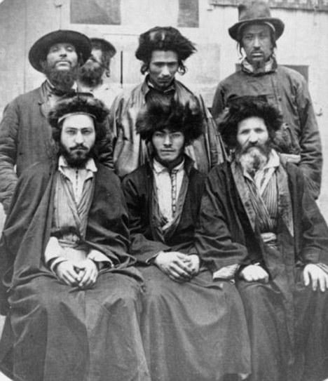 FILE - Ashkenazi Jews (pictured in 1876)